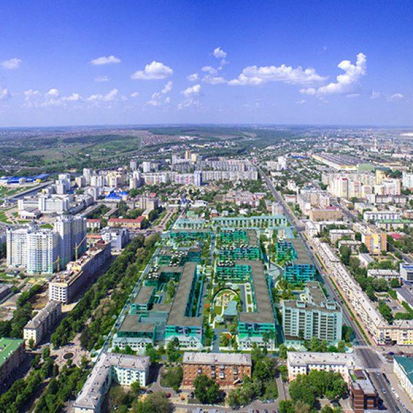 Центр Белгорода. Реконструкция